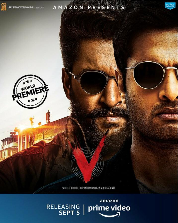 V (2020) Telugu Movie 720p HDRip 1.4GB ESubs x264 AAC