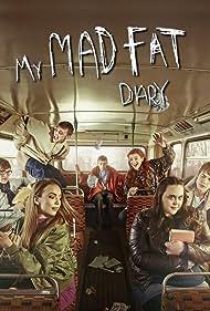 Jordan Murphy, Darren Evans, Nico Mirallegro, Jodie Comer, Ciara Baxendale, Dan Cohen, and Sharon Rooney in My Mad Fat Diary (2013)