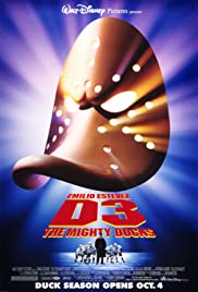 D3: The Mighty Ducks Poster