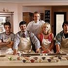 Neri Marcorè, Francesco Pannofino, Violante Placido, Monica Scattini, Luca Argentero, Matteo Oleotto, and Josefia Forlì in Lezioni di cioccolato (2007)
