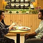 Nivetha Thomas and Sudheer Babu Posani in V (2020)