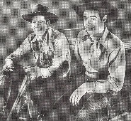 Tex Harding and Charles Starrett in The Return of the Durango Kid (1945)
