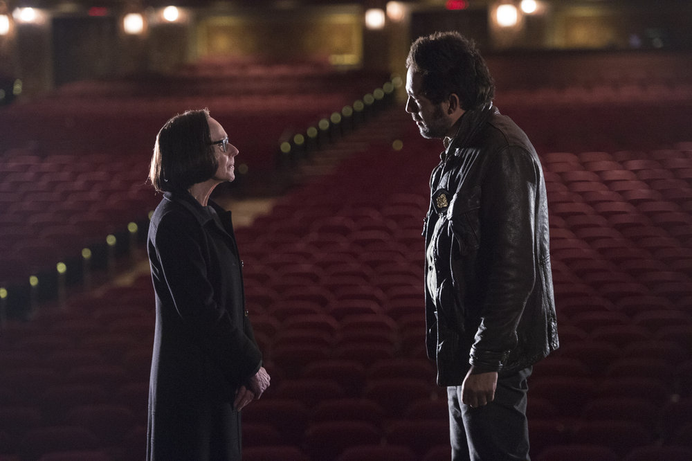 Enrique Murciano and Susan Blommaert in The Blacklist (2013)