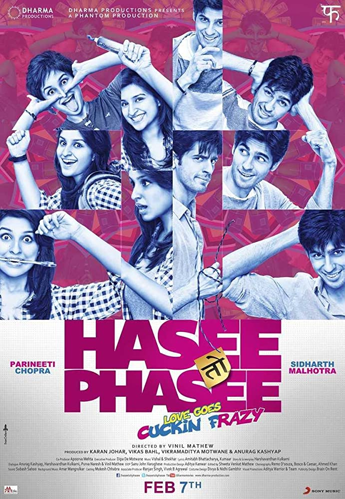 Hasee Toh Phasee 2014 Hindi Full Movie 450MB BluRay Download Watch Online Free