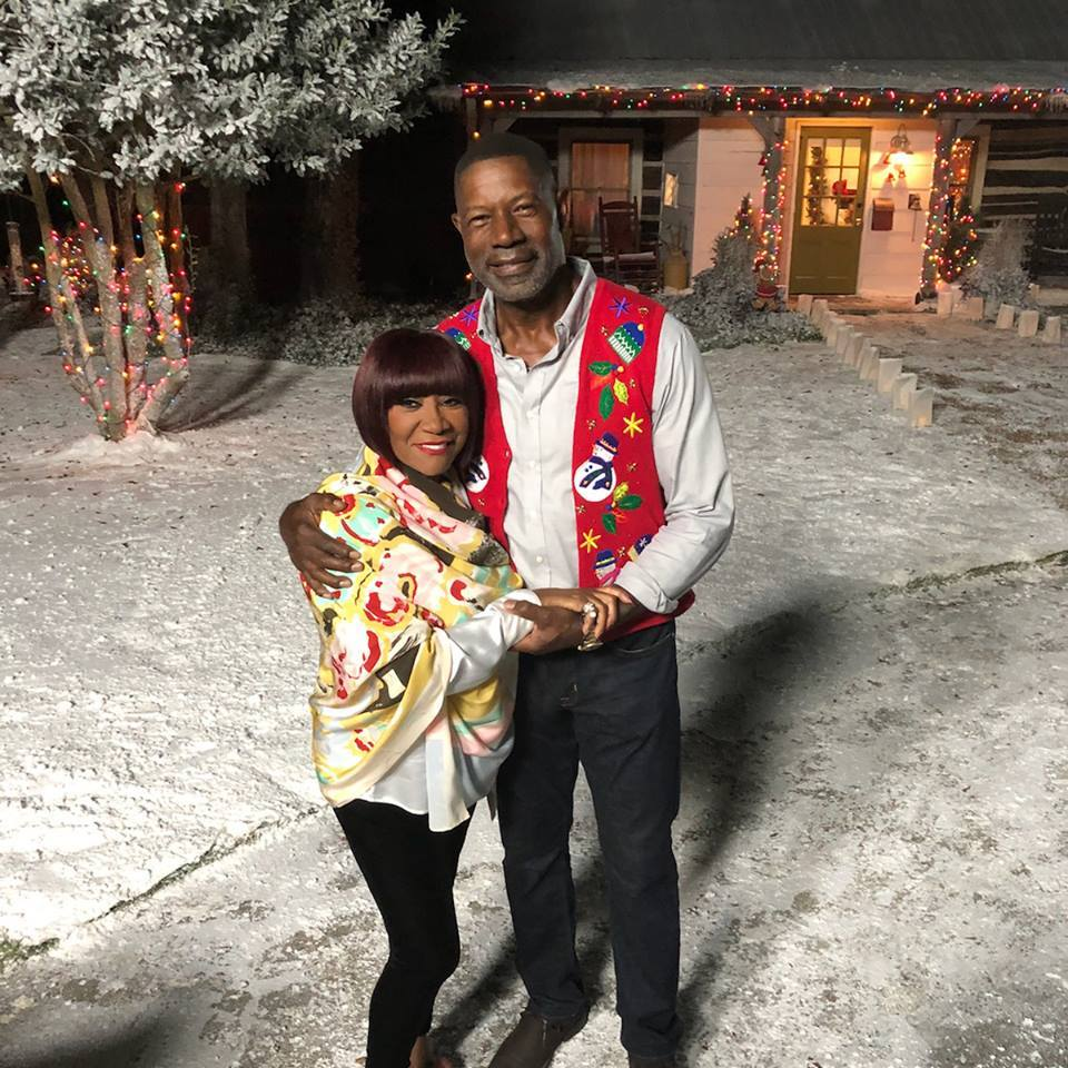 Dennis Haysbert and Patti LaBelle in Christmas Everlasting (2018)