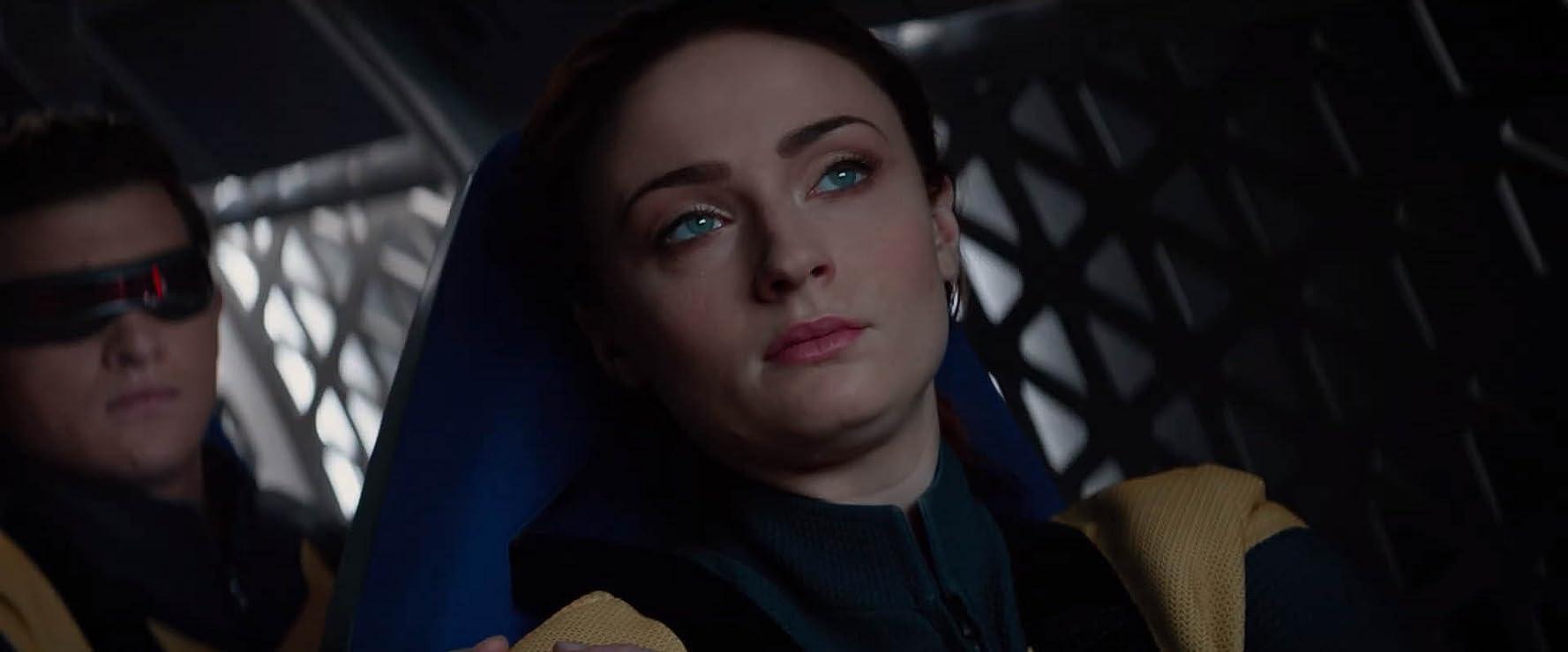Sophie Turner and Tye Sheridan in Dark Phoenix (2019)