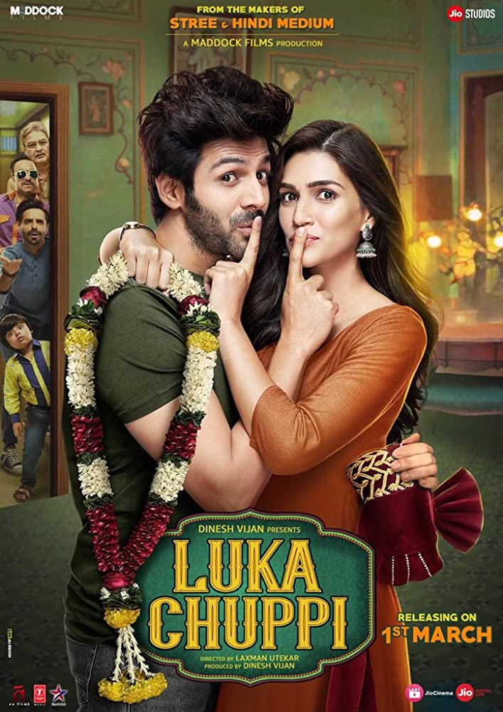 Luka Chuppi (2019) Hindi Movie 720p DVDRip 1.2GB ESubs