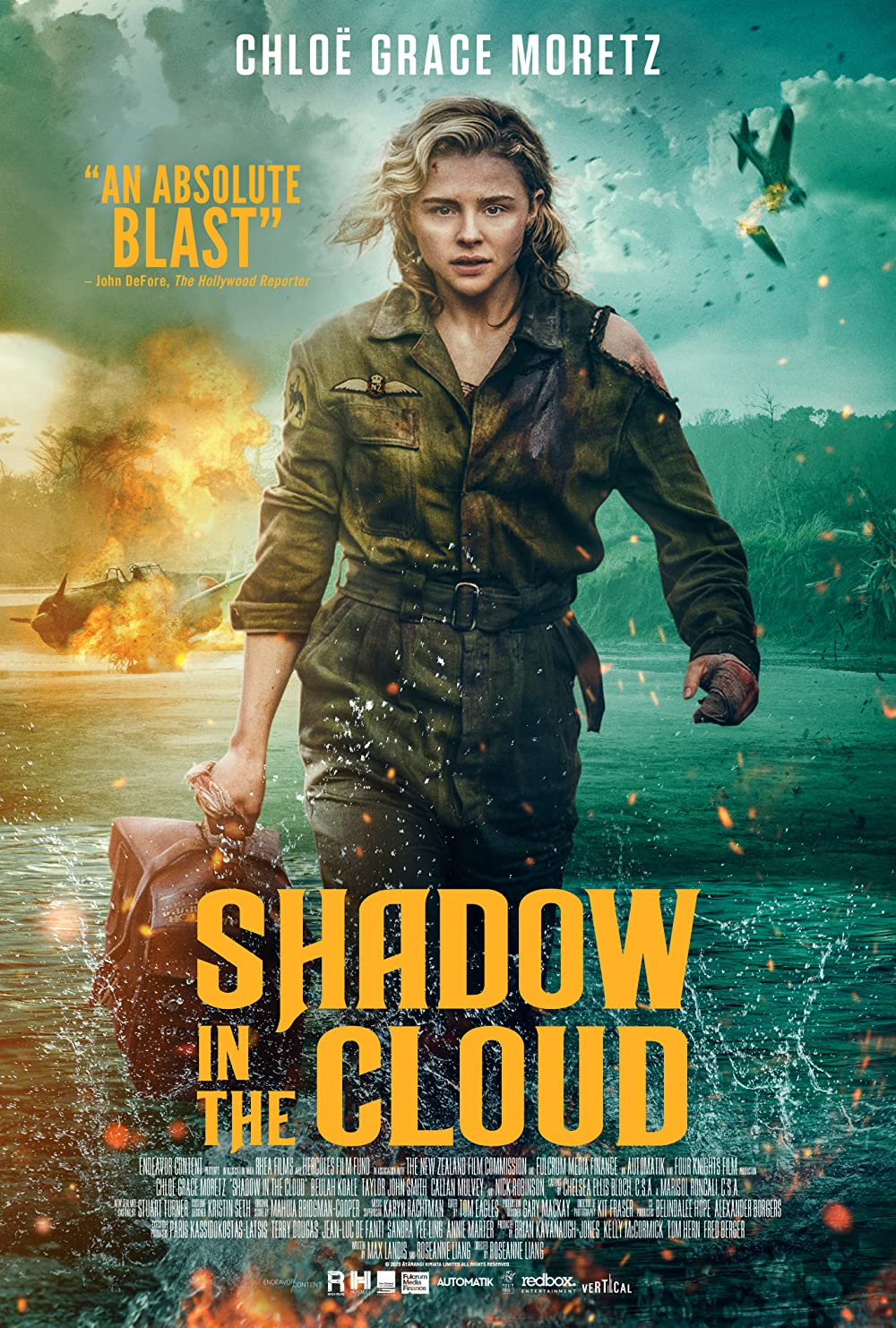 Shadow in the Cloud 2021 English 300MB HDRip Download