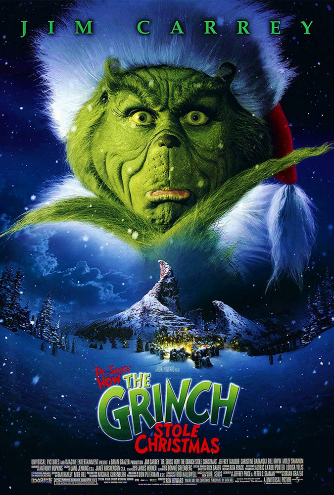 Jim Carrey in How the Grinch Stole Christmas (2000)