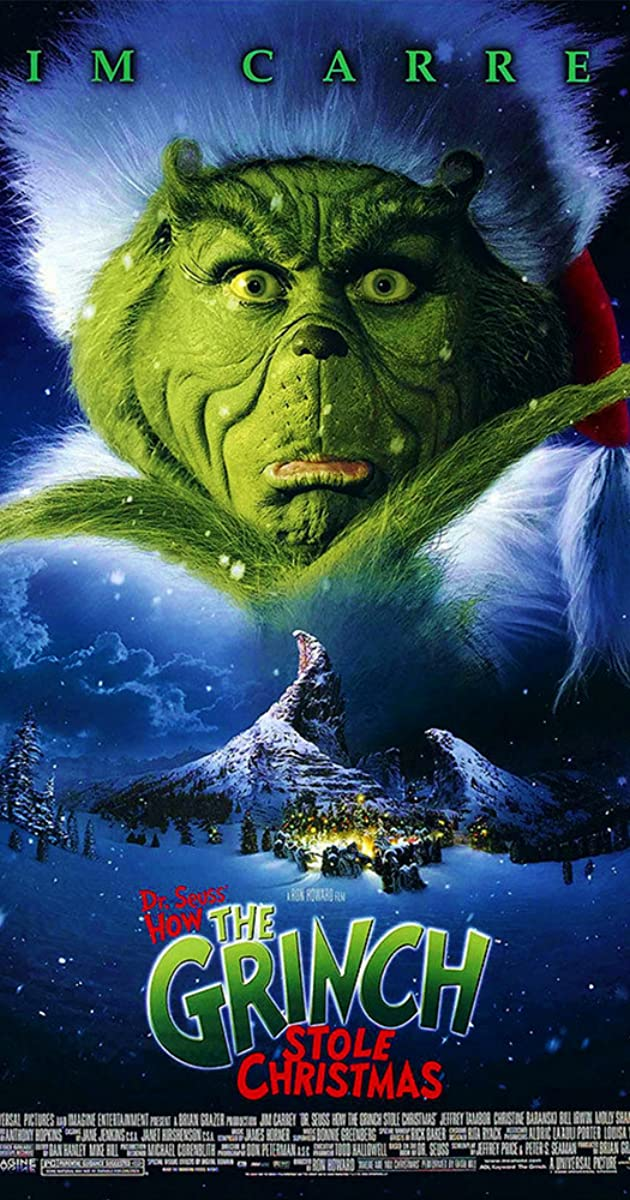 cast of the grinch jim carrey