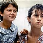 Charlotte Gainsbourg and Julie Glenn in L'effrontée (1985)