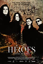Heroes. Silence and Rock and Roll Poster