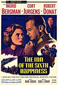 Ingrid Bergman, Robert Donat, and Curd Jürgens in The Inn of the Sixth Happiness (1958)