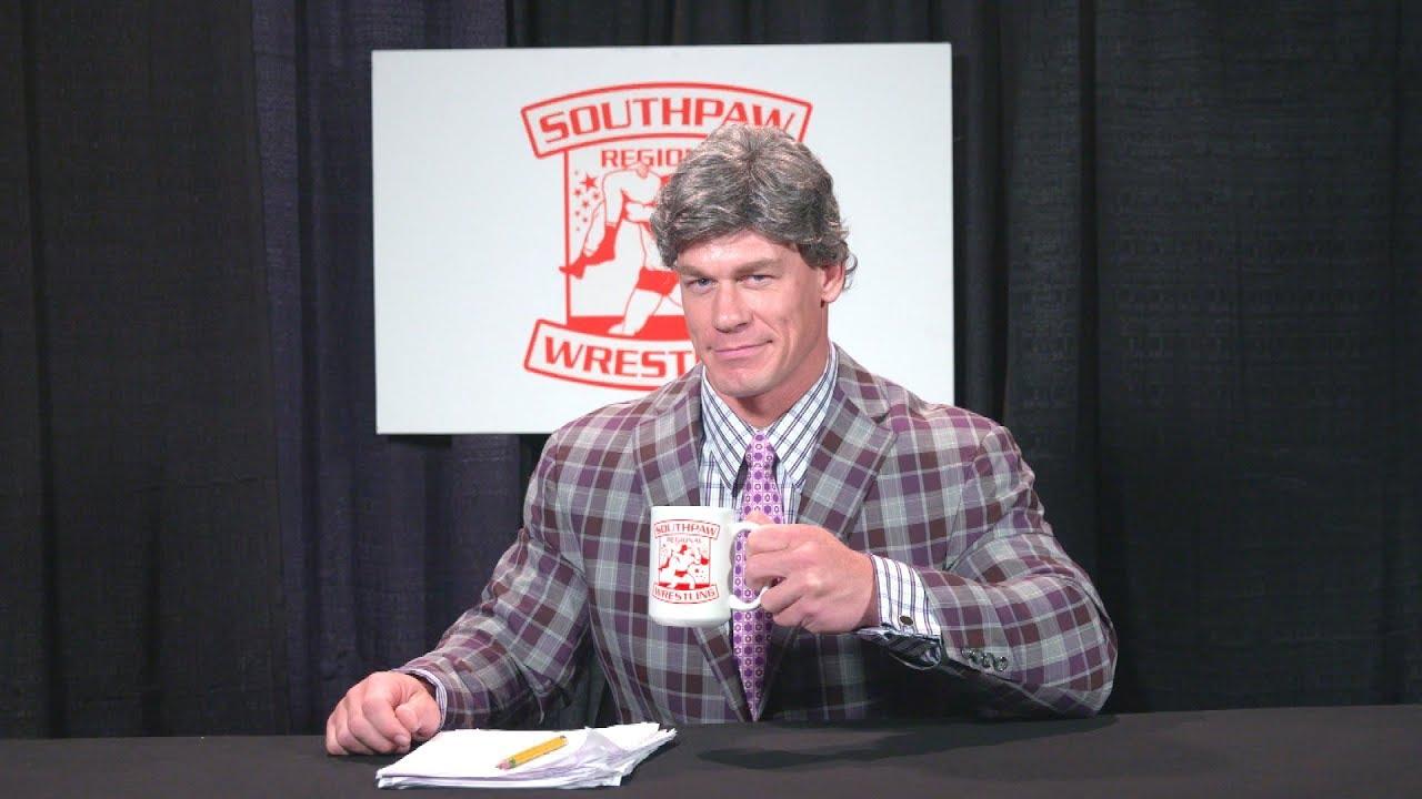 John Cena in Southpaw Regional Wrestling (2017)