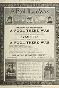 Theda Bara, Mabel Frenyear, and Edward José in A Fool There Was (1915)