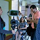 Omar Camilo, Melvin Vazquez, Yamara Rodríguez, and Ileana Torres Báez in La Mujer Maravilla Sobre Ruedas (2016)