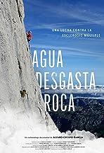 Agua Desgasta Roca