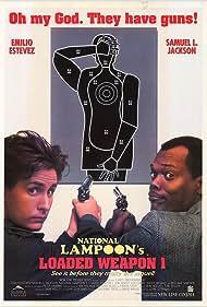 Samuel L. Jackson and Emilio Estevez in Loaded Weapon 1 (1993)