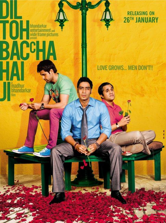 Dil Toh Baccha Hai Ji 2011 Hindi 720p BluRay 900MB Download