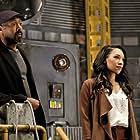 Jesse L. Martin and Candice Patton in The Flash (2014)