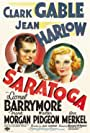 Clark Gable and Jean Harlow in Saratoga (1937)