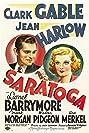Saratoga (1937) Poster