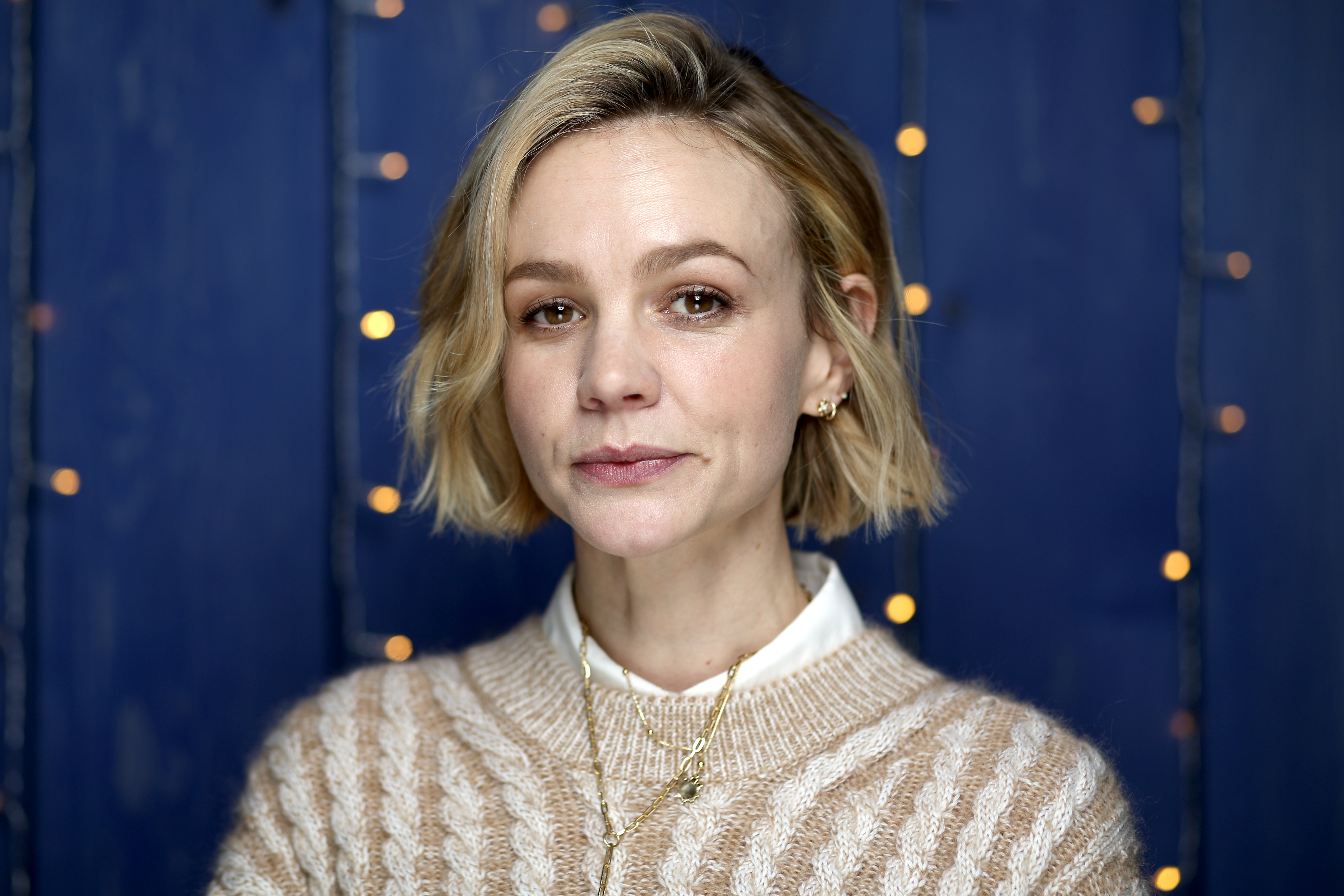 Carey Mulligan at an event for The IMDb Studio at Acura Festival Village (2020)