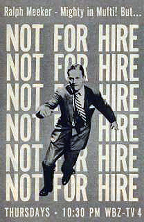 Not for Hire (TV Series 1959– ) - IMDb