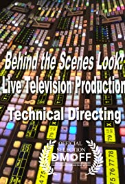 Behind the Scenes Look: Live Television Production Poster