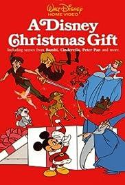 A Disney Christmas Gift Poster