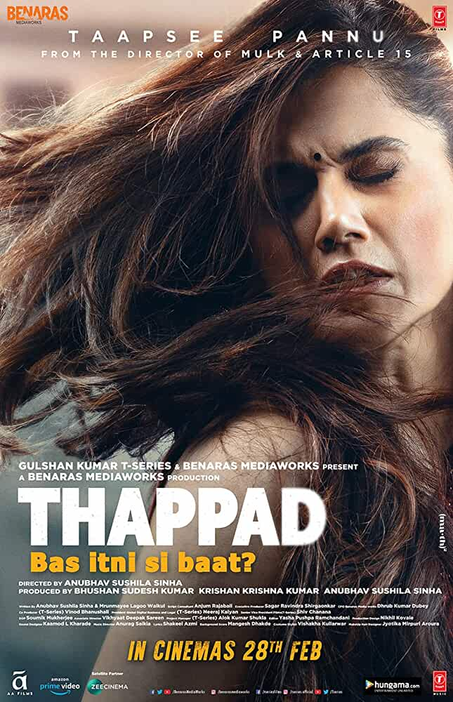 Download Thappad Hindi Full Movie in HD 1080p |  720p | 480p