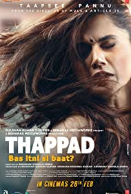 Taapsee Pannu in Thappad (2020)