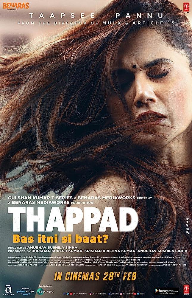 Thappad 2020 Hindi Movie 1080p HDRip ESub 2.3GB