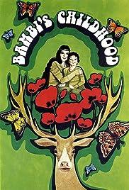 Detstvo Bambi Poster