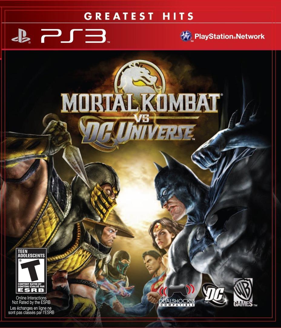 Mortal Kombat vs  DC Universe (Video Game 2008) - IMDb