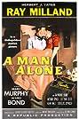 A Man Alone (1955) Poster