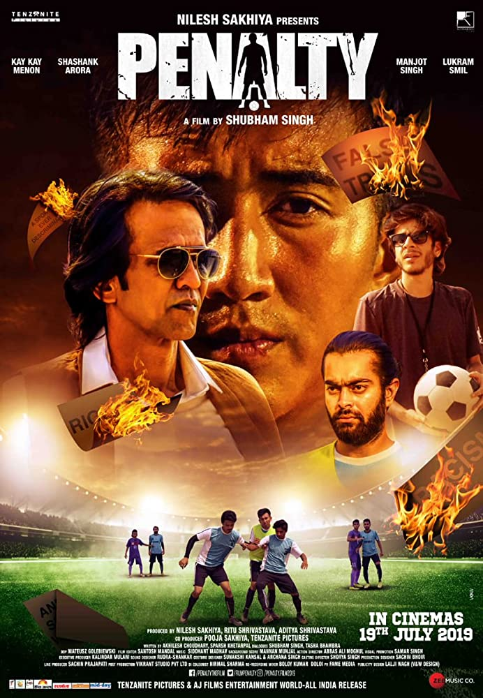 Penalty 2019 Hindi Movie 720p NF HDRip ESubs 900MB x264 AAC