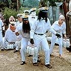 Keanu Reeves, Mr. T, Jeff Kahn, and Derek McGrath in Freaked (1993)