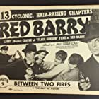 Buster Crabbe, William Gould, Hugh Huntley, and Wheeler Oakman in Red Barry (1938)