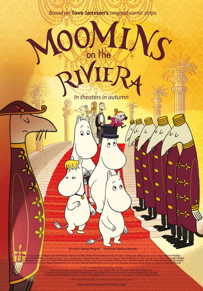 Troliai Mumiai Rivjeroje / Muumit Rivieralla / Moomins on the Riviera (2014) Online