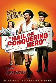Hail the Conquering Hero Poster