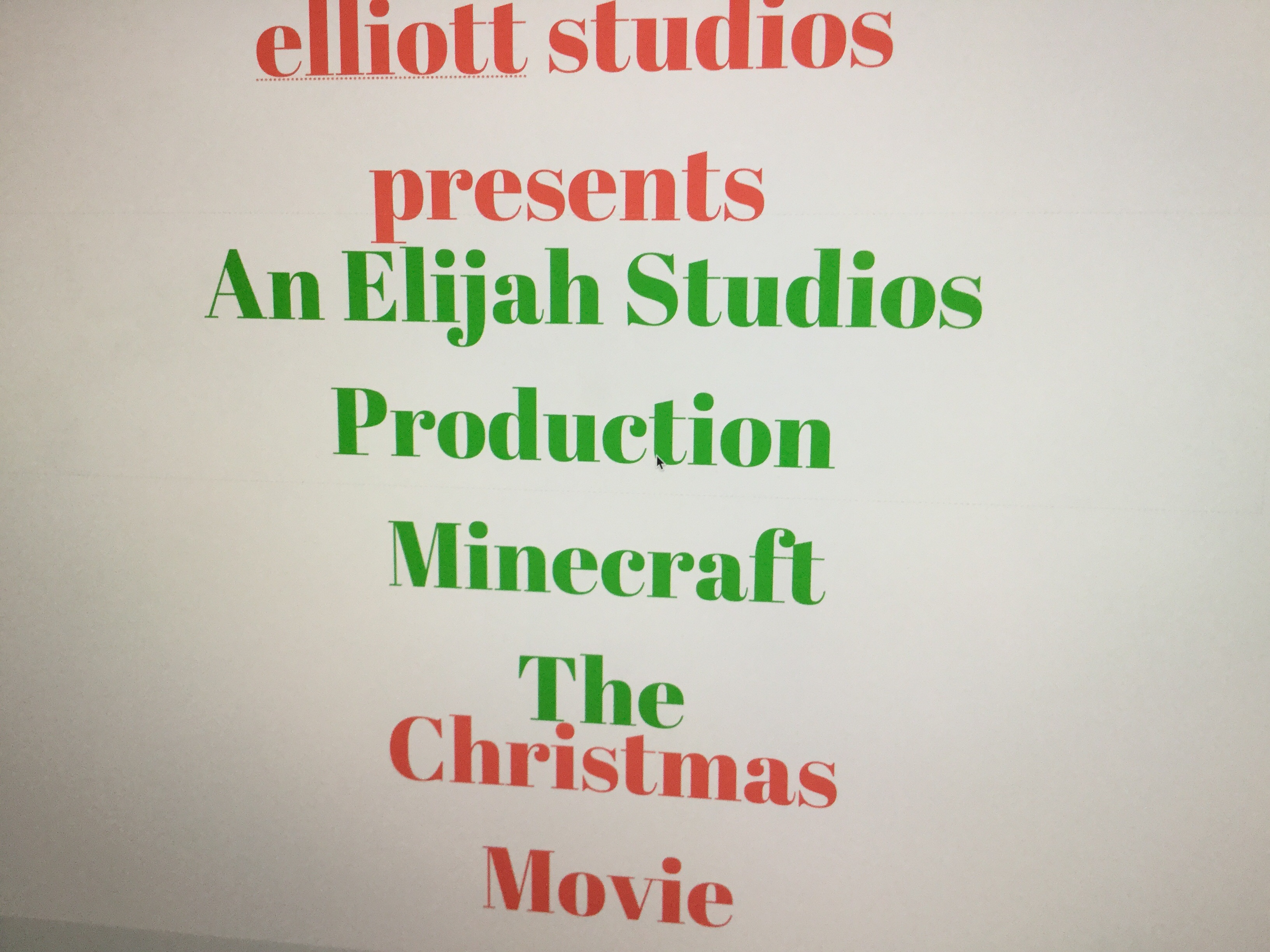 Minecraft the Christmas Movie (2017) - IMDb