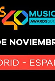Los40 Music Awards 2017 Poster