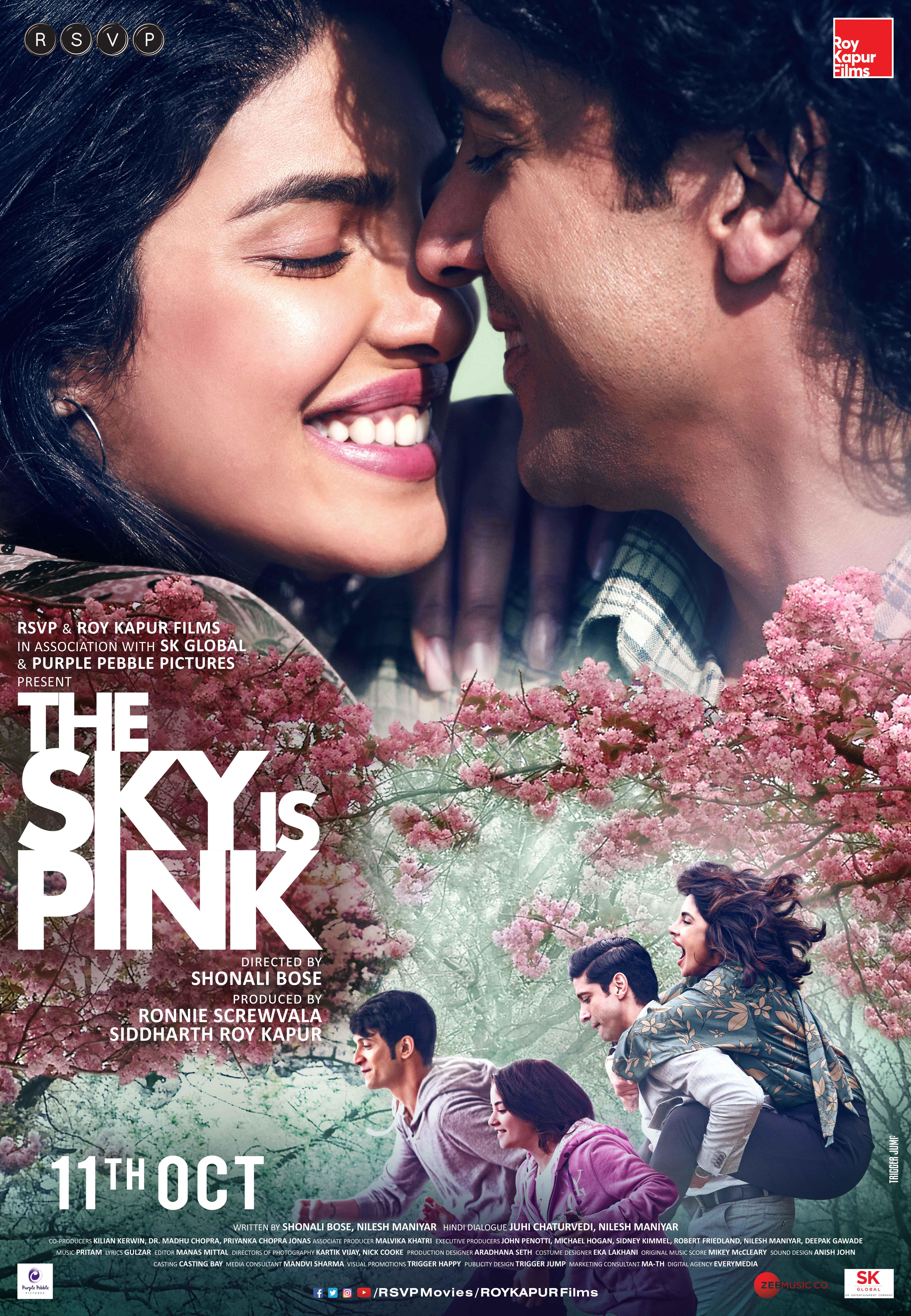 ROŽINĖS SPALVOS DANGUS (2019) / The Sky Is Pink