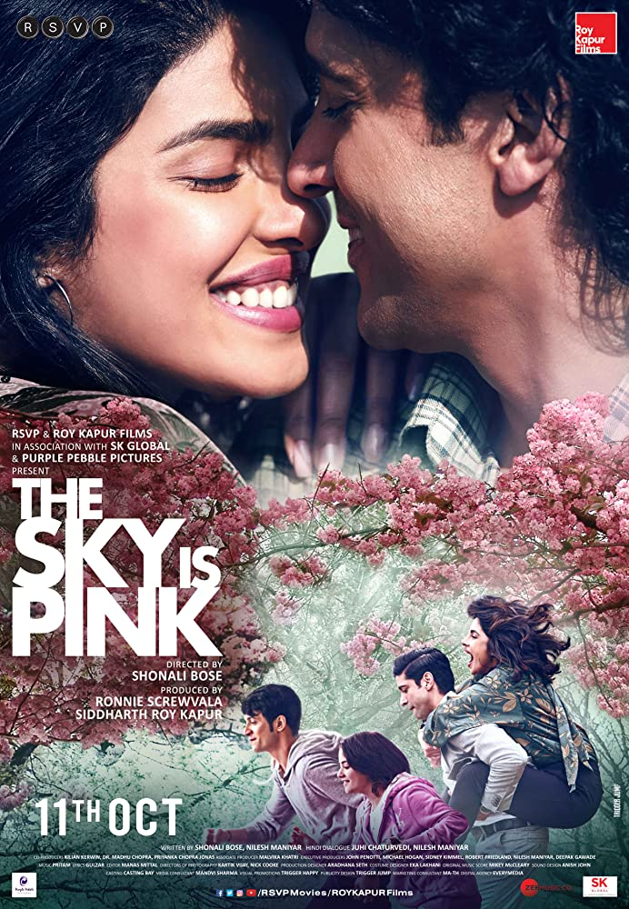 Poster film The Sky Is Pink (2019)