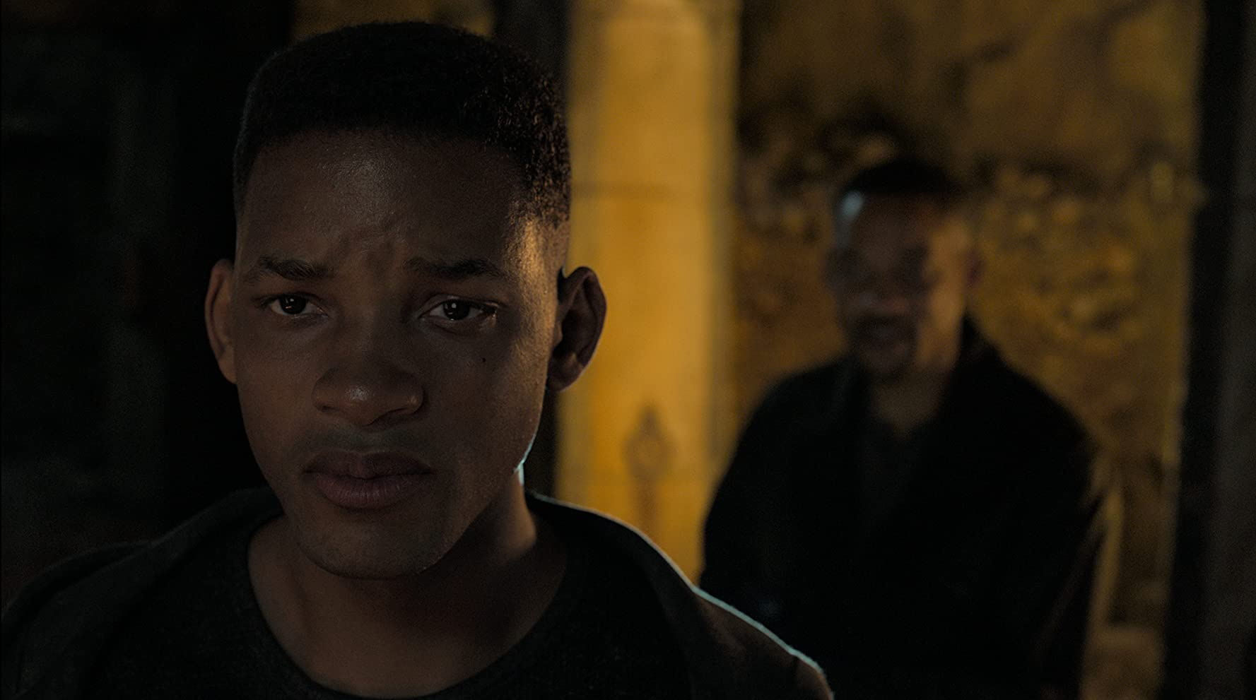 Will Smith and Ang Lee in Gemini Man (2019)