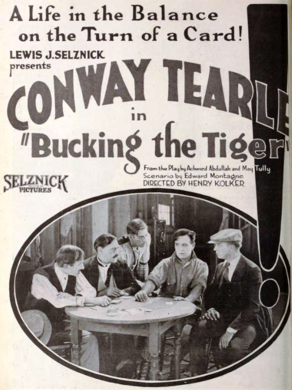 Gladden James, Harry Lee, Templar Saxe, Conway Tearle, and George A. Wright in Bucking the Tiger (1921)