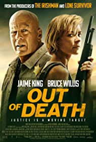 Bruce Willis and Jaime King in Out of Death (2021)