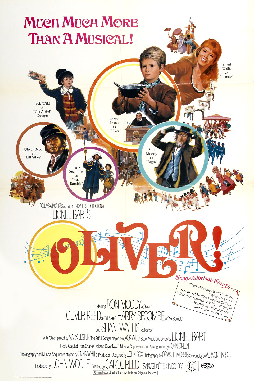 Oliver! (1968) BluRay 480p, 720p & 1080p