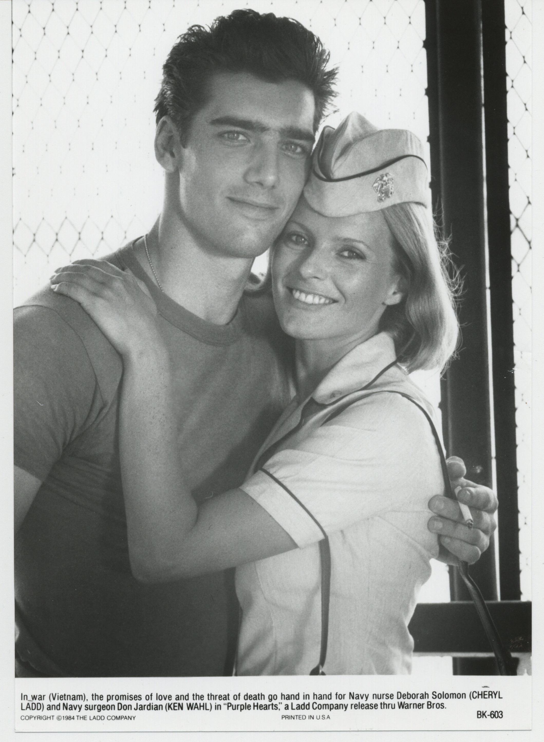 Cheryl Ladd and Ken Wahl in Purple Hearts (1984)